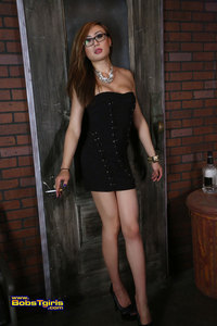 venus lux venus black dress